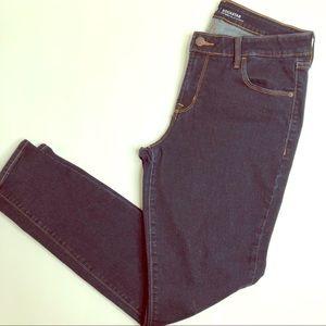 Old Navy Rockstar Skinny Dark Wash Denim Jeans